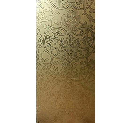 کاشی ارغوان طرح ویکتوریا طلایی 60*30 کد 3641
